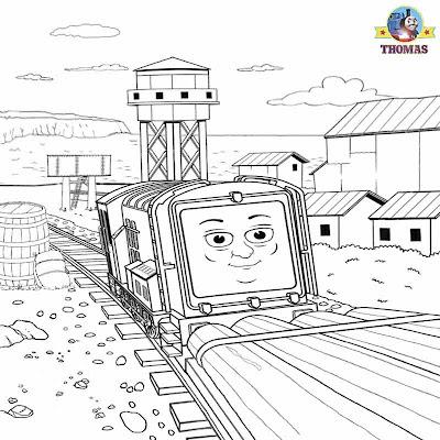 diesel train coloring pages - thomas diesel 10 coloring pages coloring pages