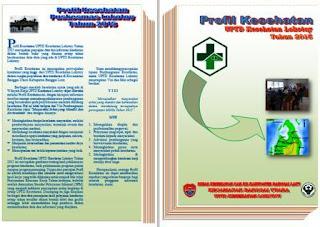 Cover Belakang dan Cover Depan Profil Puskesmas
