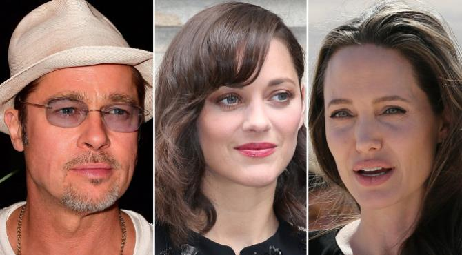 """Angelina Jolie has filed for divorce from Brad Pittafter learning he was cheating on her with his sexy co-star, a well-placed source told The Post on Tuesday.  """"She hired a private eye because she felt that he was fooling around with her on the set, and it turns out, he was. And that was the final straw,'' the source said.  Pitt, 52, had been rumored to have been cozying up to his """"Allied'' co-star Marion Cotillard, 40, for months during the pair's filming of the World War II drama in London.  The PI discovered that Pitt was cheating on his wife of two years with Cotillard — while also partying like a single guy on a mission, the source said.  """"The atmosphere [off-set] was full of hard drugs and Russian hookers, and Angie was told Brad got caught up in it,'' the source said.  """"He's in the throes of some insane midlife crisis, and Angie is fed up."""""""