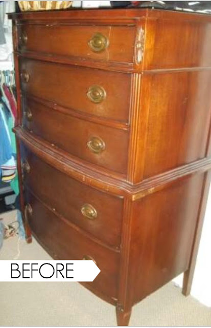 The Owners Weren T Asking Very Much For It Because Top Drawer Was Ed And Covered In Scratches Dings After Essing Dresser