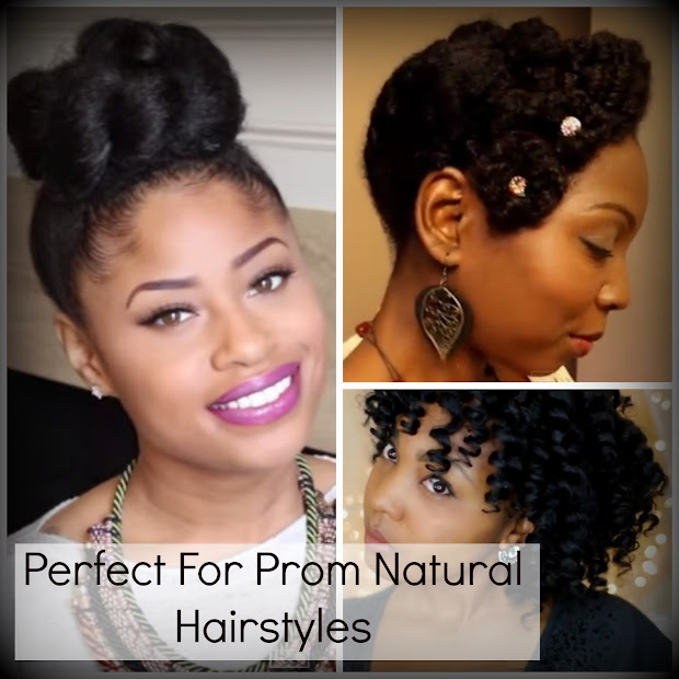 perfect prom natural hairstyles