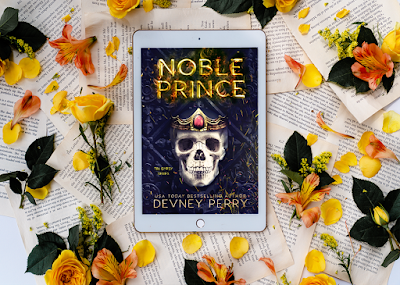 Cover Reveal: Noble Prince (Tin Gypsy #4) by Devney Perry
