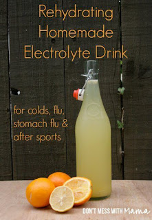 Make A Homemade Electrolyte Drink