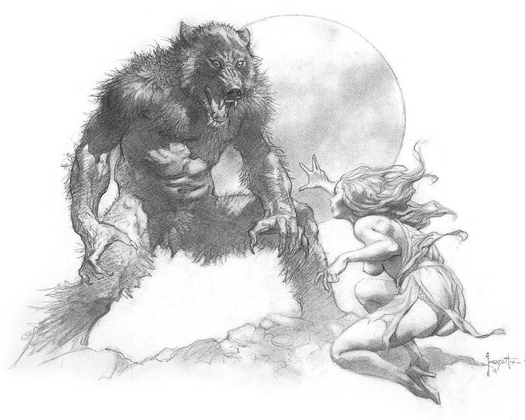 La Atalaya Nocturna Galeria de Hombres Lobo Gallery Werewolfs
