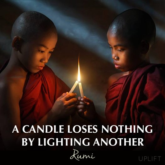 A Candle Loses Nothing By Lighting Another. bible, ibiyeomie, kumuyi