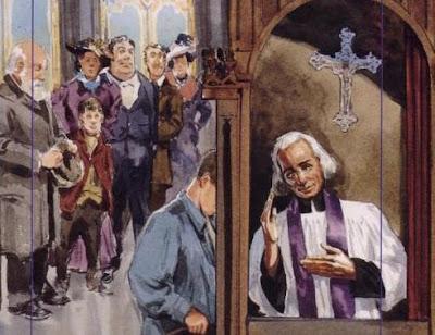 St John Vianney Confession