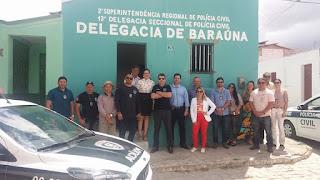 Delegacia de Polícia Civil de Baraúna é reaberta