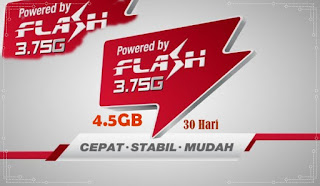 Paket Flash Tsel 4.5GB