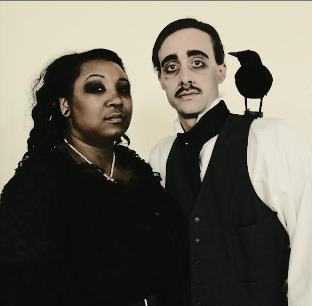 DIY Edgar Allan Poe & Lenore Halloween Costumes. DIY Edgar Allan Poe Costumes
