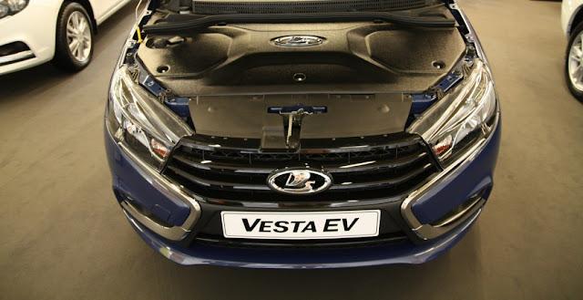 электромобиль Lada Vesta EV