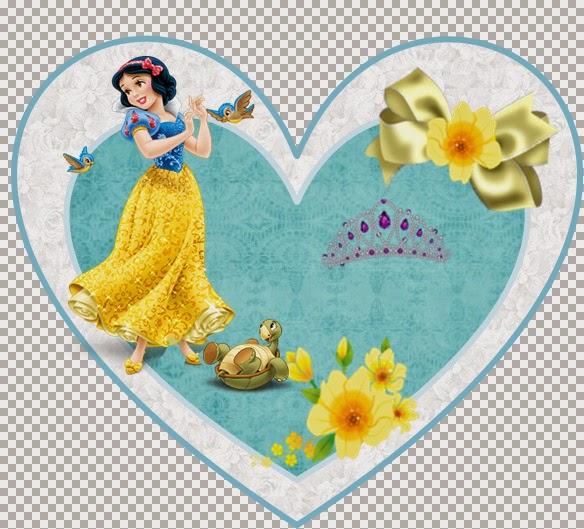 Snow White: Free Printable Mini Kit for Parties.