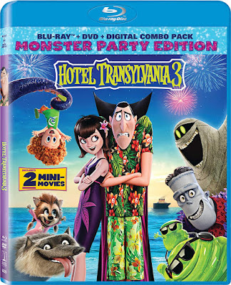 Hotel Transylvania 3 Blu Ray