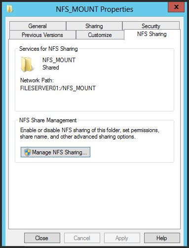Nfs Server – CleanHiks