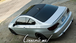 BMW 335i E92 rear angle high
