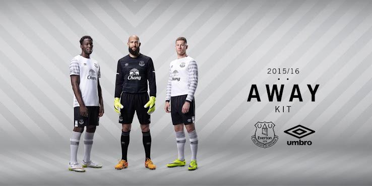 2515f7f7b Everton 15-16 Away Kit Released - Footy Headlines