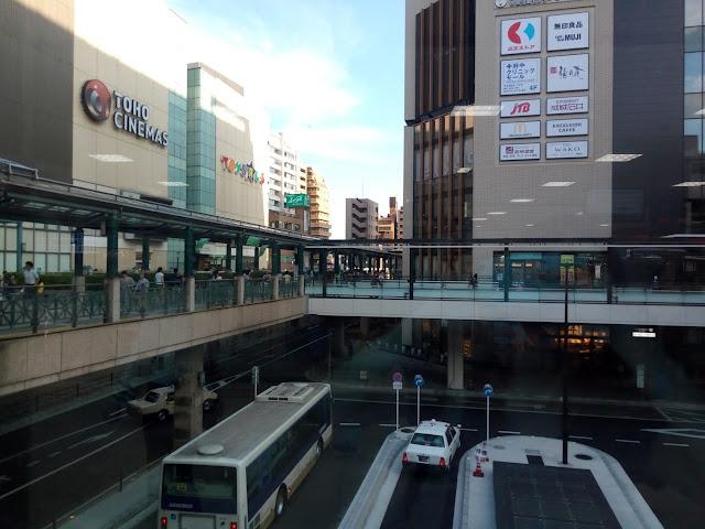 京王線府中駅前南口バスターミナル