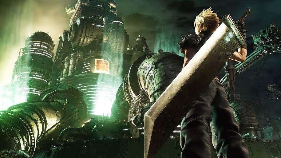 Cloud Strife Final Fantasy 7 Remake Poster 8k Wallpaper 7 61