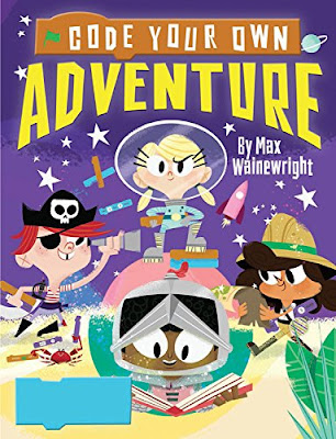 Colorful, engaging, and informative - Code Your Own Adventure provides step-by-step instructions in a comic-book format for kids to code their own game using Scratch. Kids will learn how to draw characters and shapes, animate plot lines, and create games all while learning how to code. A fun way to gain useful knowledge and coding skills!  #CodeYourOwnAdventure #NetGalley #Coding