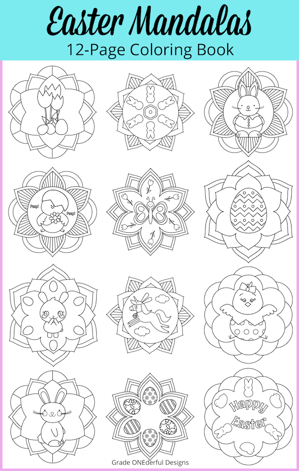 https://www.teacherspayteachers.com/Product/Easter-Mandala-Coloring-Book-4482443