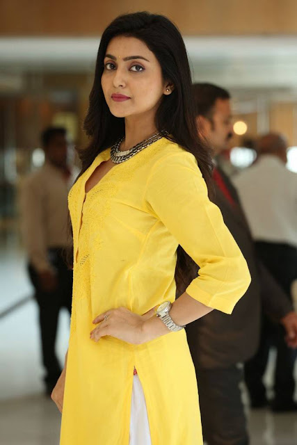 Avantika Photoshoot Stills In Yellow Dress