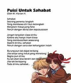 Puisi Singkat Sahabat Sejati Puisi Indonesia Lengkap