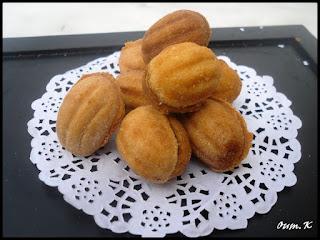 recette de La noix fourrée au caramel ramdan  2016