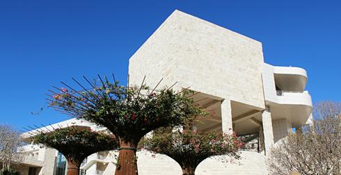 Getty Center Art Museum LA Los Angeles