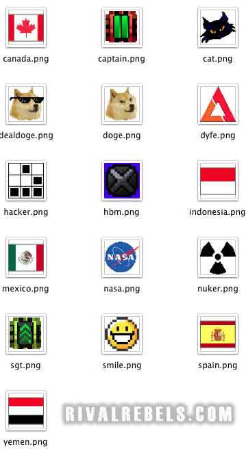 Robot Logos and Flags3