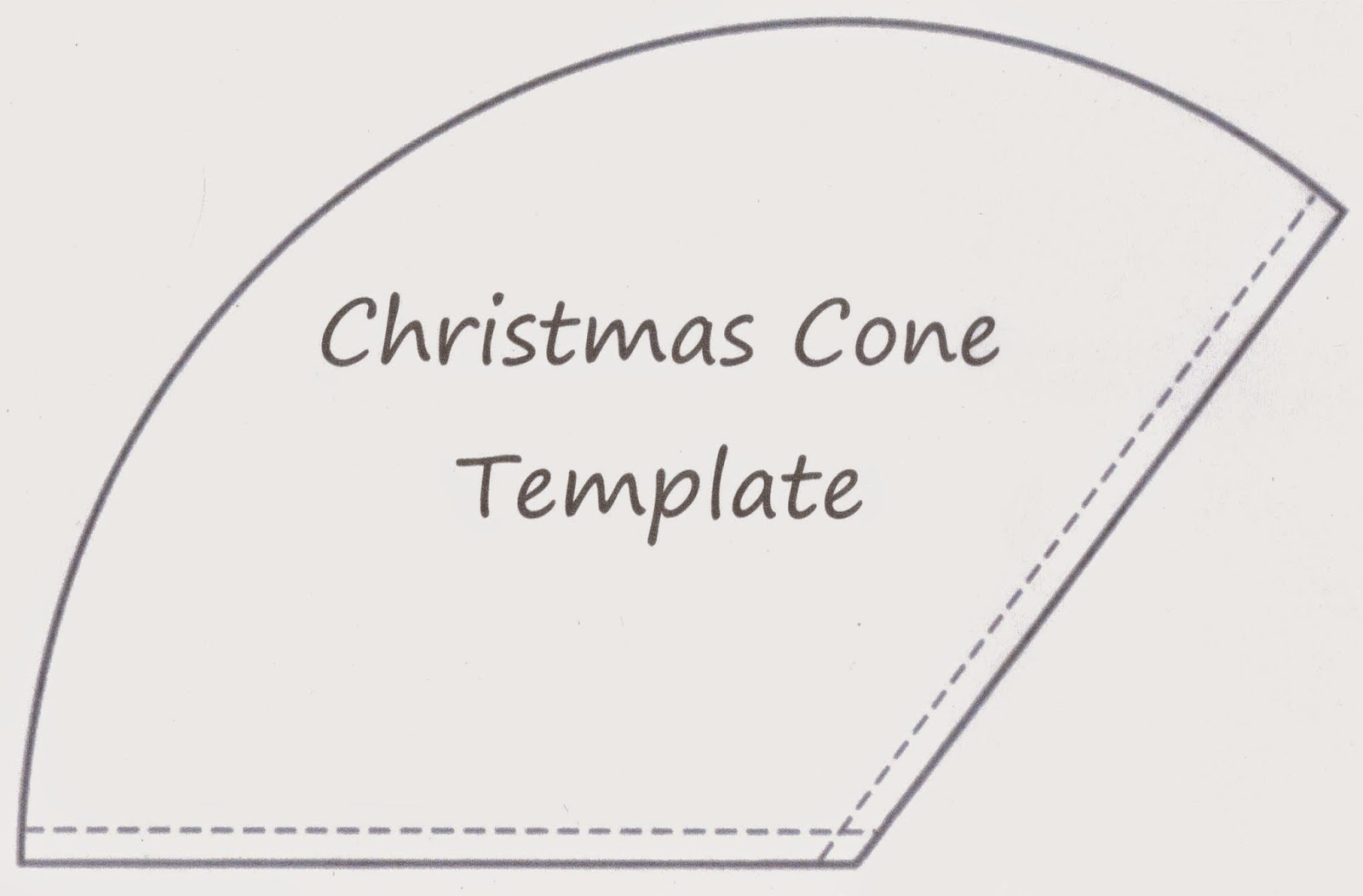 SewforSoul: Christmas Gift Cone Tutorial