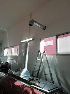 foto aspiración de humos industriales madrid