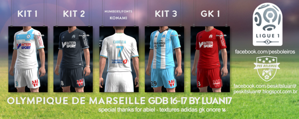 Kitpack Update For Season 2016-17 [PES 2013] - PATCH PES