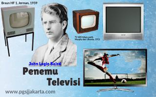 Penemuan Televisi Oleh John Logie Baird pada tahun 1925