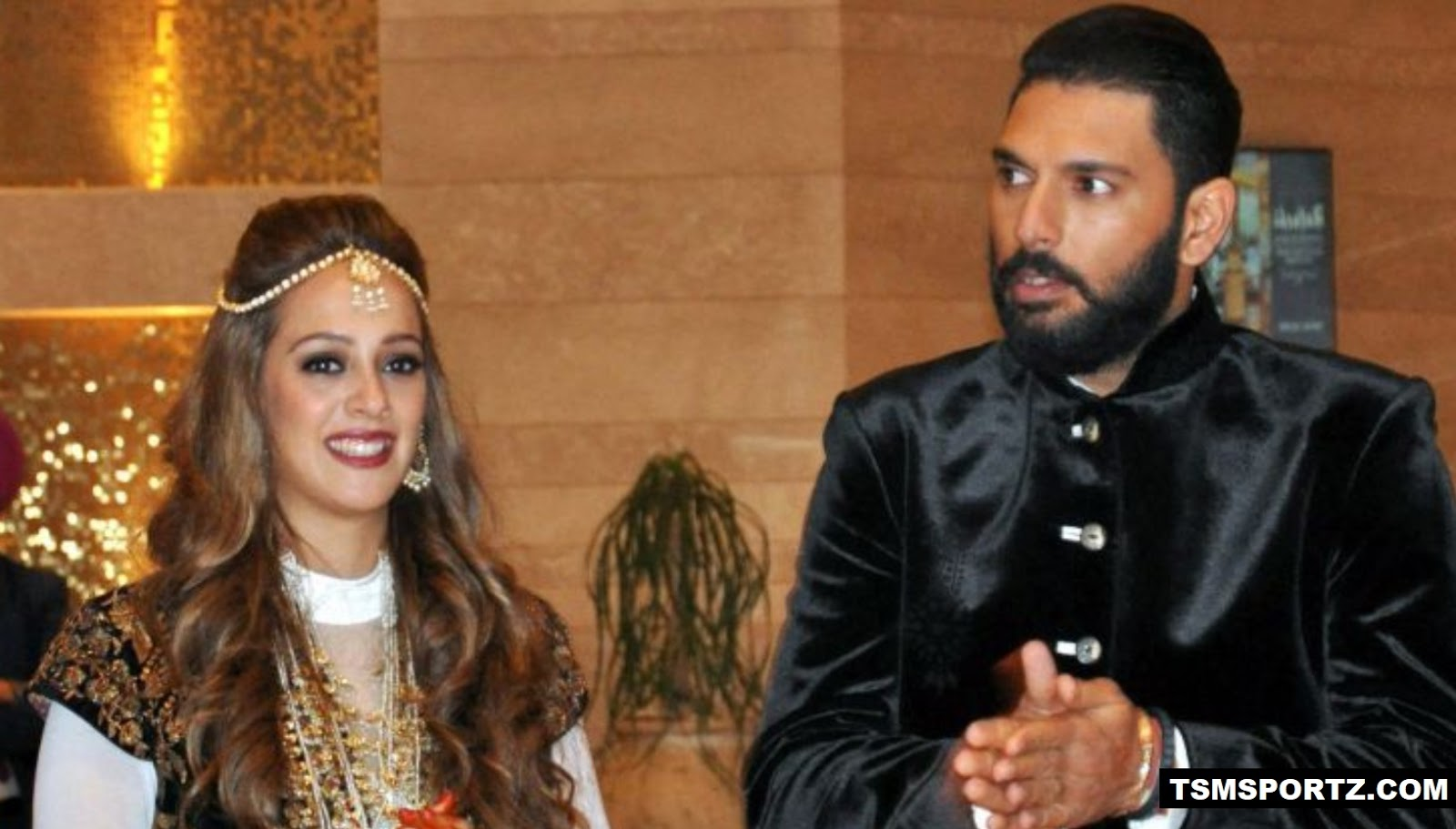 Yuvraj Sing Married to rising Model Bollywood Hazel Keech