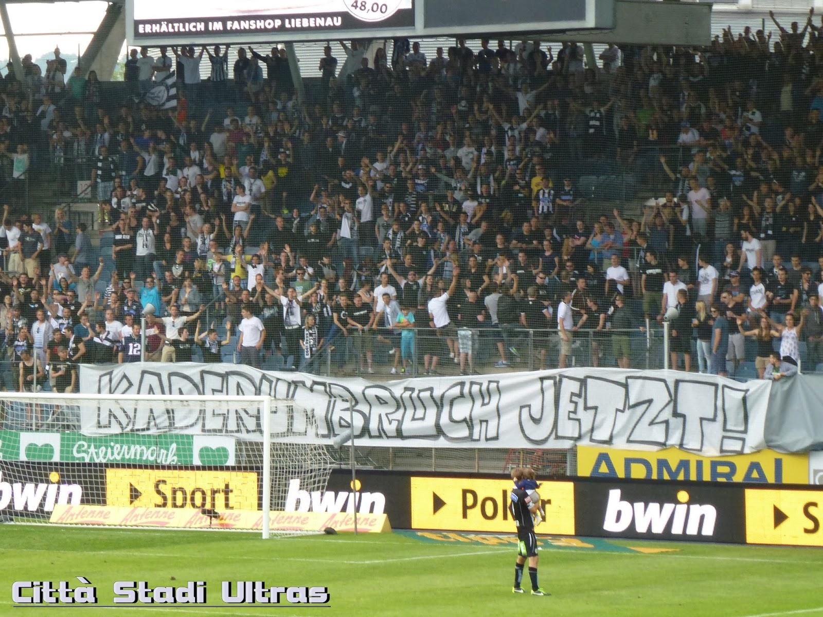 Città Stadi Ultras Sk Sturm Graz Sv Ried