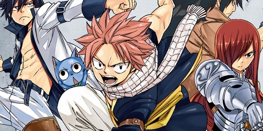 Fairy Tail, Manga, Critique Manga, Pika Édition, Hiro Mashima,