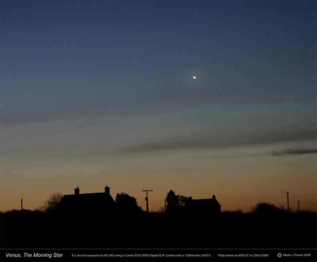 Venus, a estrela dalva