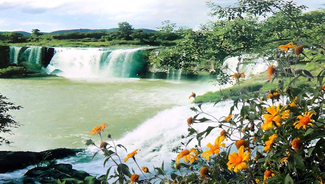 "Dak G'lun Waterfall- ""the Beautiful Girl"" in Dak Nong"