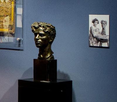 Бюст Чаплина в Мануар-де-Бан