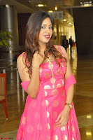 Sindhu Shivarama in Pink Ethnic Anarkali Dress 09.JPG