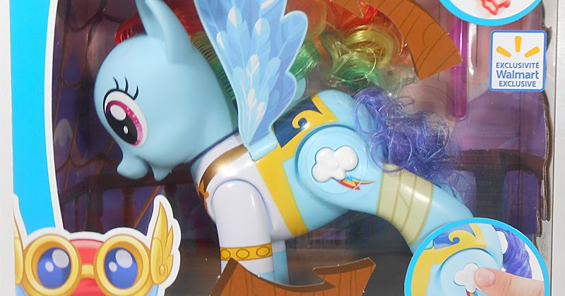 Pirate Style Flip Amp Whirl Rainbow Dash Now Exclusively At