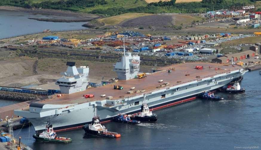 Portaaviones HMS Queen Elisabeth. Aviones, submarinos y barcos de guerras mas caros del mundo. Cuanto cuesta un portaviones. Cual es el costo de un avión de guerra. Cuanto vale un submarino nuclear.