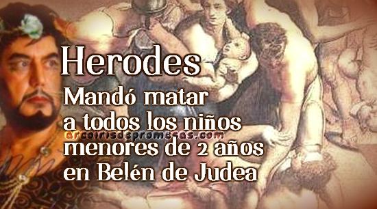 hombres crueles de la biblia herodes