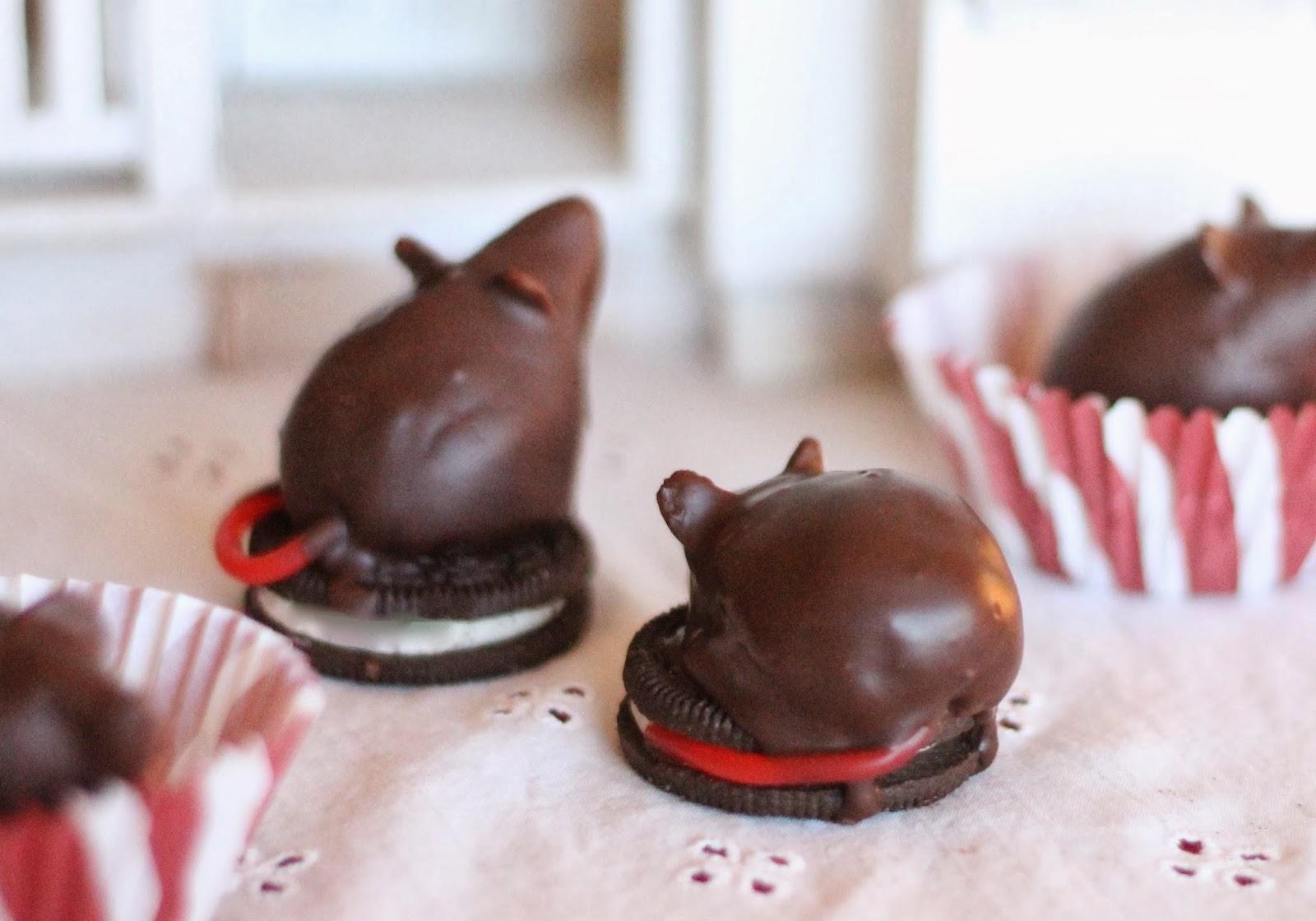 Where Your Treasure Is: Chocolate Christmas Mice