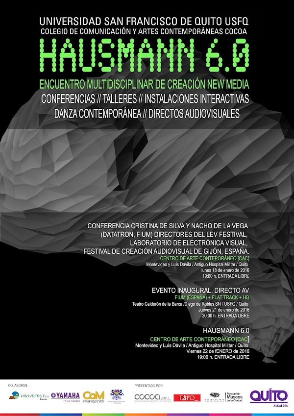 Taller sobre arte y nuevos medios Hausmann 6.0