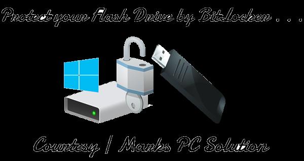 Password Protect your Pen Drive using BitLocker
