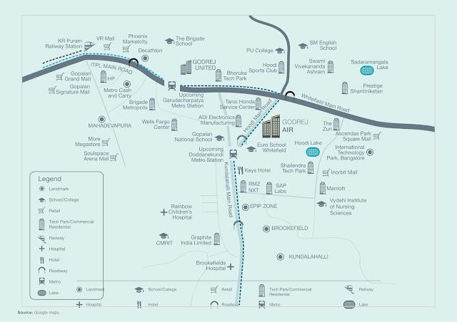 Godrej Air - Oxy Plus Homes Location