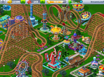 Mod Apk RollerCoaster Tycoon 4 Mobile Gratis