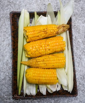 fresh corn for breakfast | recipe of makai ka kees