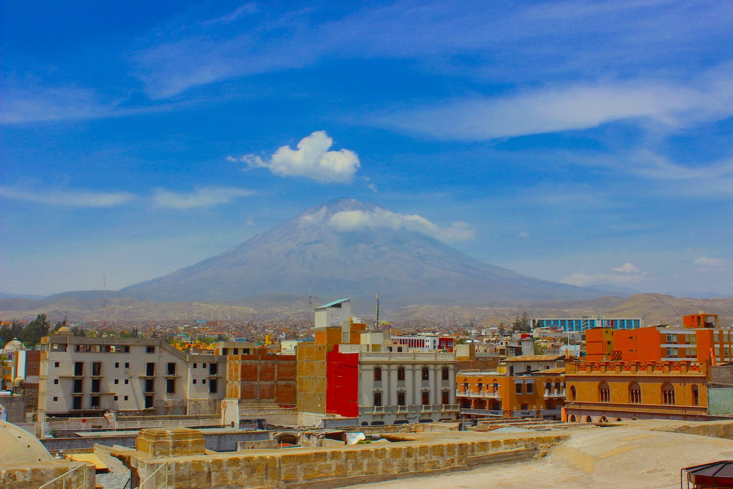 volcano in arequipa