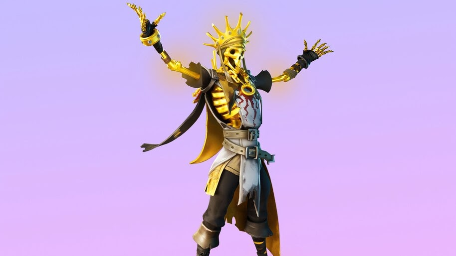 Oro, Fortnite, Skin, Outfit, 4K, #7.894